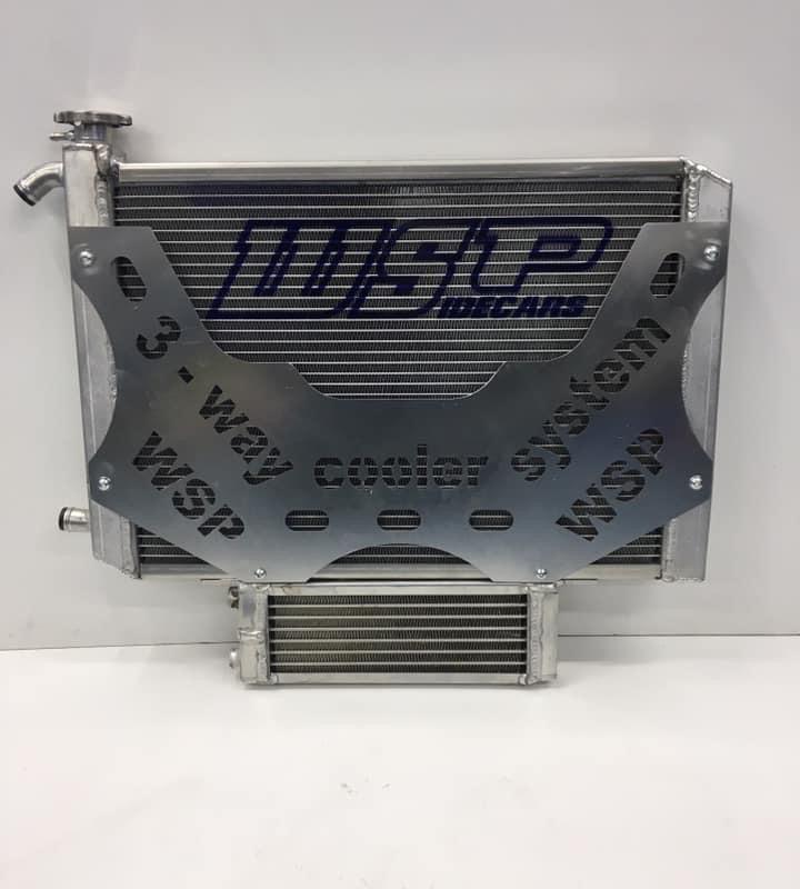 Cooler set  4-stroke + Oil cooler